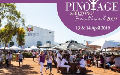 Pinotage and Biltong Festival – A sea of purple and white